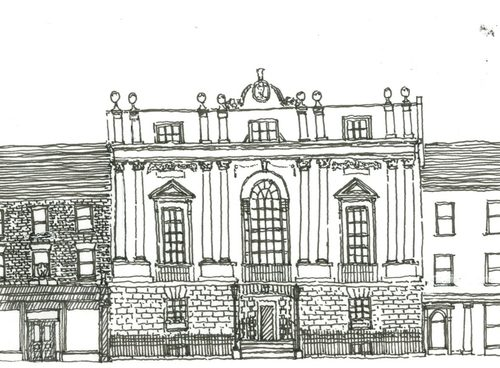 A Mansion House Is Building That Serves As Venue For Entertainment And Civic Functions Most Houses Were Built In Wealthy English Towns Between