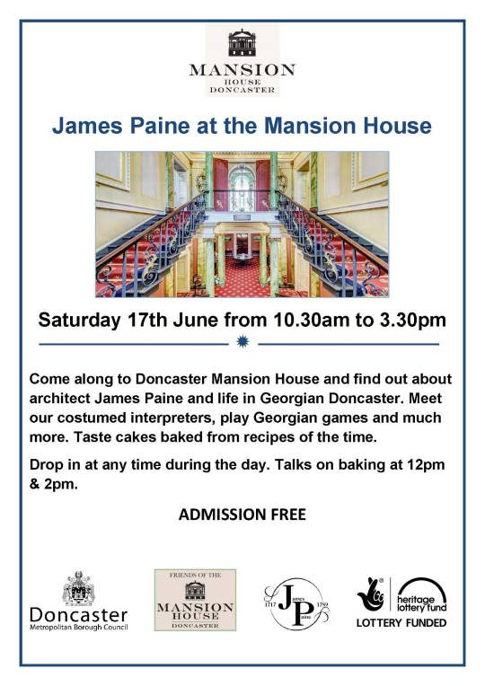 James Paine Day at the Mansion House